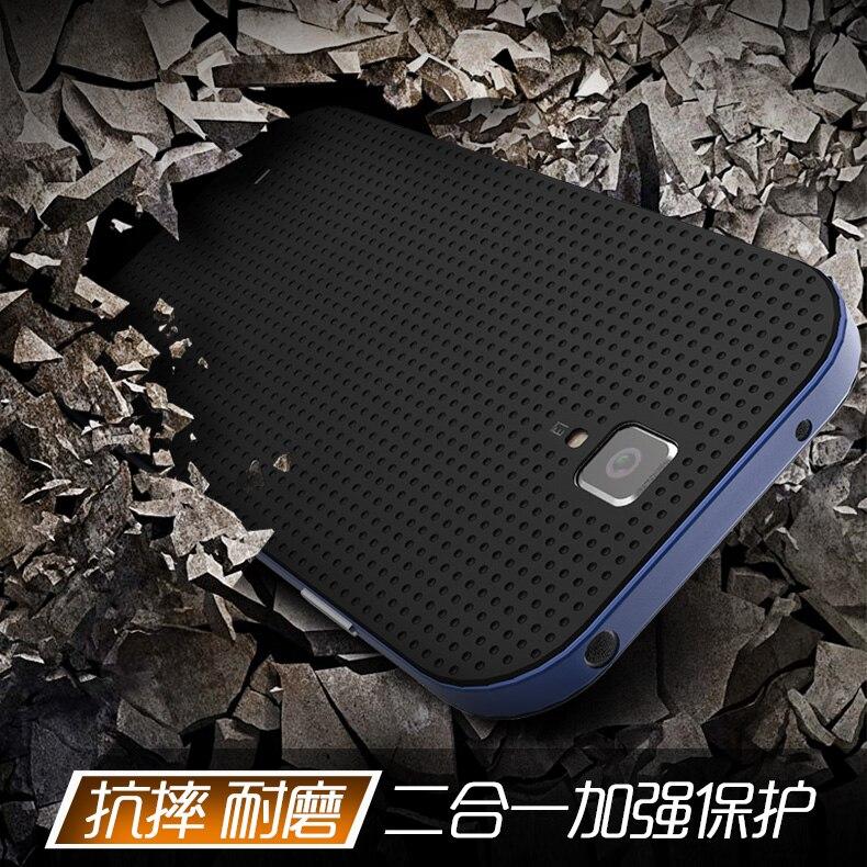 100% étui dorigine en silicone de qualité supérieure 2 en 1 design et cadre en silicone pour Samsung galaxy S4 housse anti-choc fonction