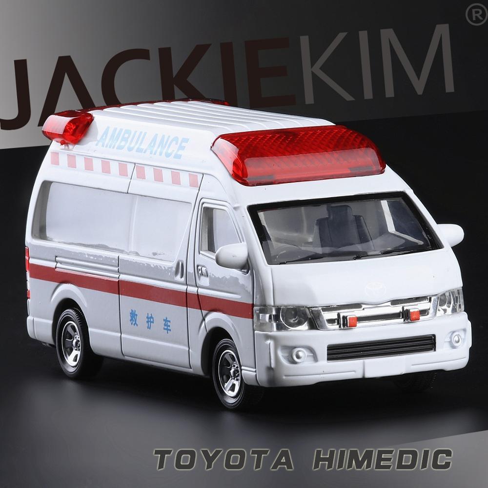 Alta qualidade de simulação de alta 132 liga pull back carros, Toyota leões marinhos ambulância modelo de metal, frete grátis