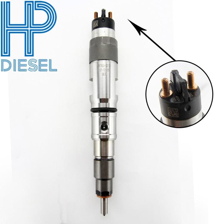 HP DIESEL 0445120040 inyector 0 445 120 040 combustible Diesel inyector 0445120040 para 107755-0350 boquilla 0433171871 para Daewoo doosan