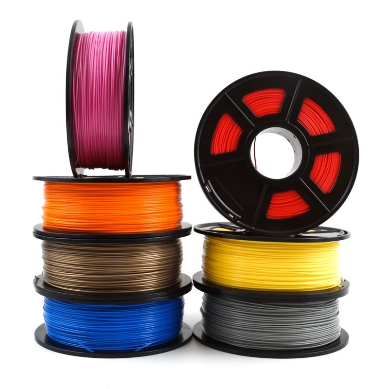 3D Printer Filament PLA 1.75mm 1kg/2.2lbs 3d plastic consumables material 3d filament PLA