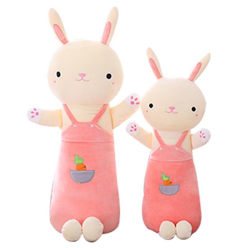 Cute Rabbit Bunny Long Pillow Deer Girl Sleeping with Plush Toy Birthday Gift