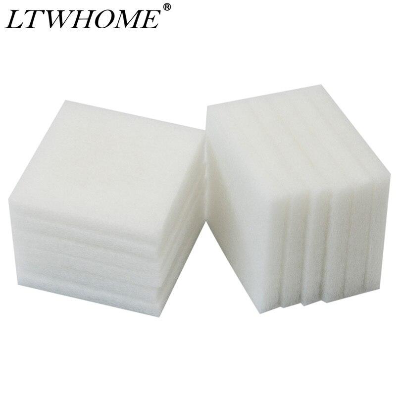Almohadillas de polietileno compatibles con LTWHOME adecuadas para filtros estándar Juwel/BioFlow 6,0