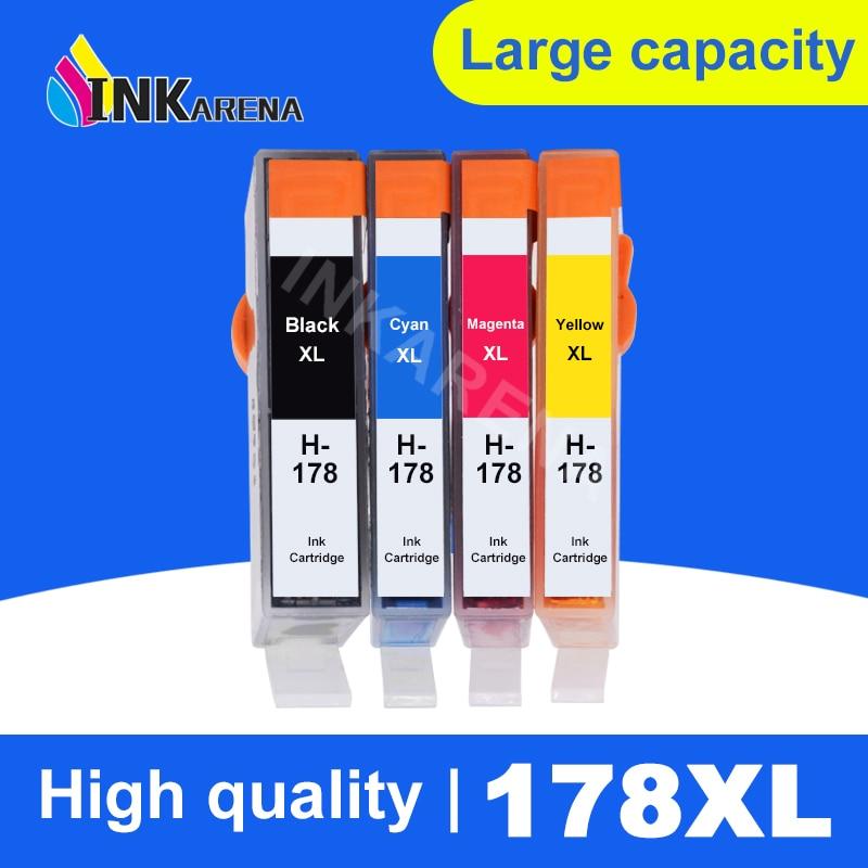 INKARENA 178XL Compatible Ink Cartridge Replacement for HP 178 XL Photosmart 7515 5515 B109a B209 B210 3070A 3520 7510 Printer