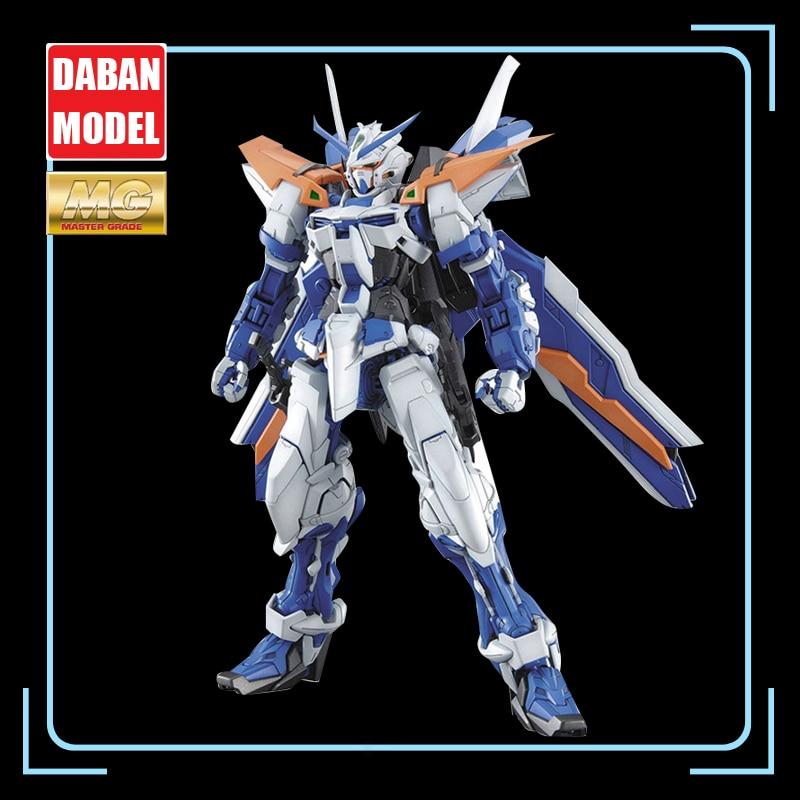Daban modelo 1/100 mg 6605 azul espada quebra-cabeça gigante azul heresia em forma de l gundam ação figura fora da cópia crianças brinquedos presentes