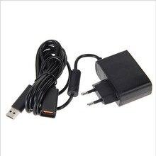 Ue/US maison mur alimentation ca 100V-240V adaptateur Extension de charge USB câble pour Xbox 360 Console Kinect capteur chargeur