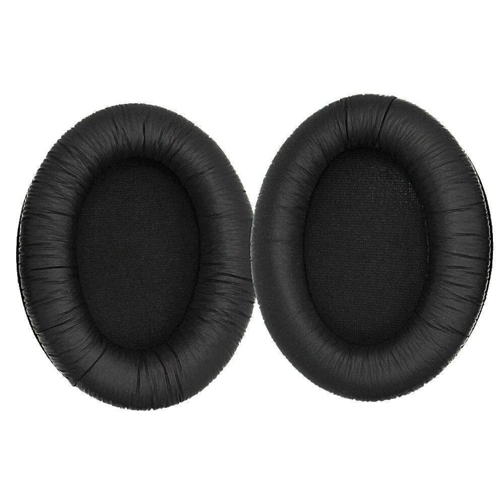 Сменные амбушюры из губки и кожи для Sennheiser HD 201 HD180, черные, по низкой цене, опт