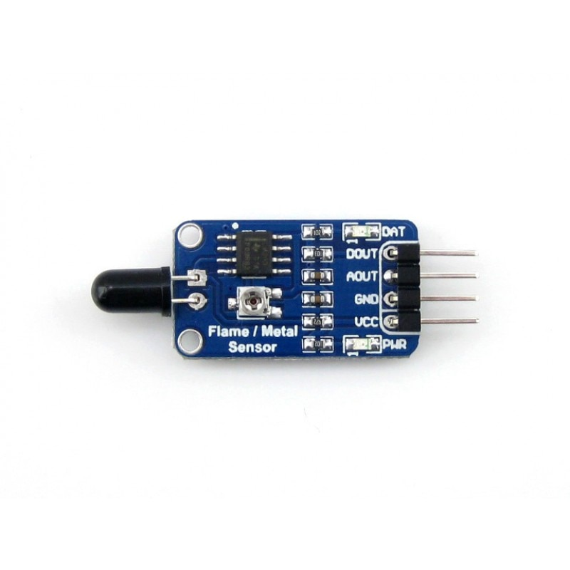 Sensor de Detecção de Incêndio Módulo para Stm32 Waveshare Chama Raspberry pi