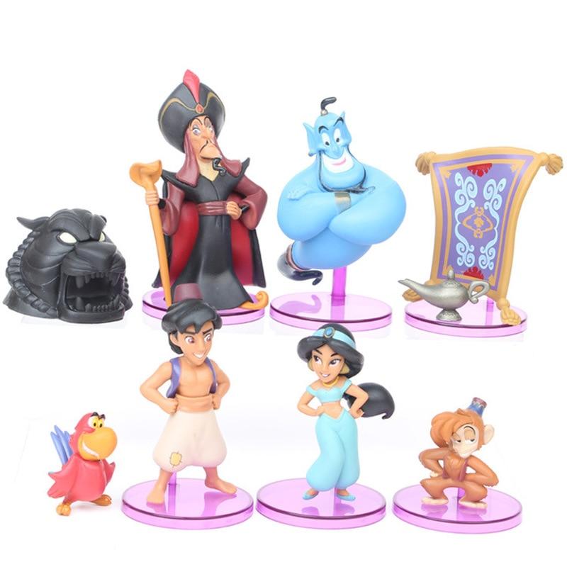 Princesa de Disney juguete jazmín mono malvado Tigre Aladino y su lámpara...