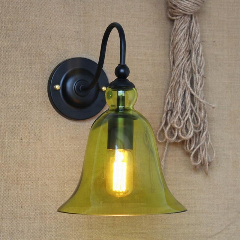4 color lámparas clásicas de pared iluminación cian de lámparas de pared para dormitorio sala de estar comedor pasillo cama café balcón lámpara