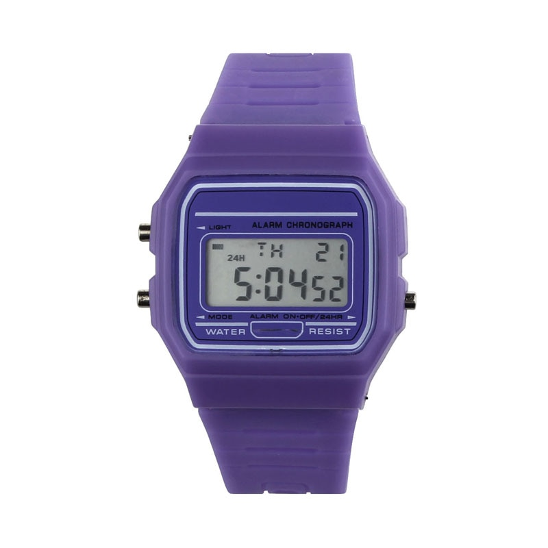 New Silicone Rubber Strap Retro Vintage Digital Watch Boys Girls Mens Hot часы мужские женские