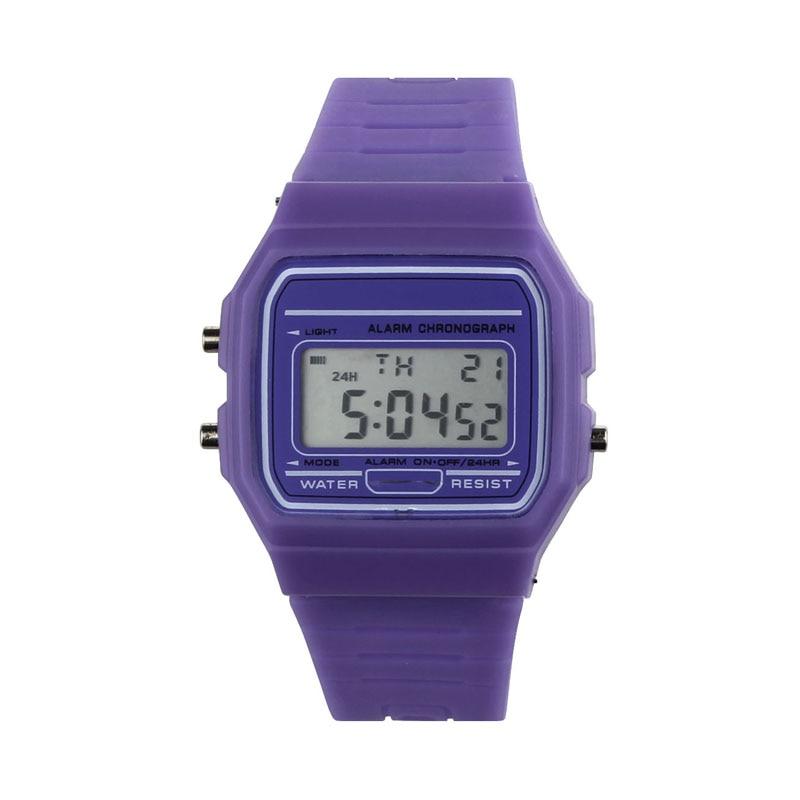 New Silicone Rubber Strap Retro Vintage Digital Watch Boys Girls Mens Hot часы мужские женские