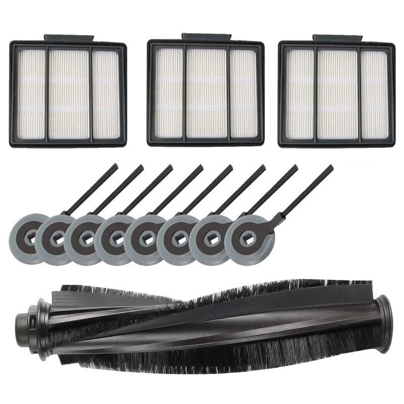 Recambio de filtros de cepillo de Cepillo Lateral y filtro Hepa Cepillo Lateral es Accesorios para Shark Ion Robot S87 R85 Rv850 Rv85