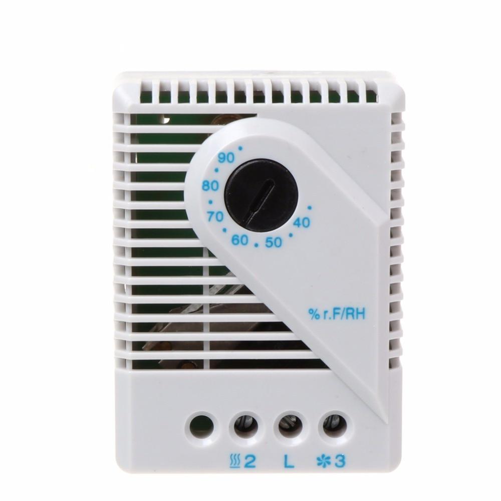 1Pc Mechanische Hygrostat Feuchtigkeit Controller Verbinden Fan Heizung für Schrank MFR012 W315