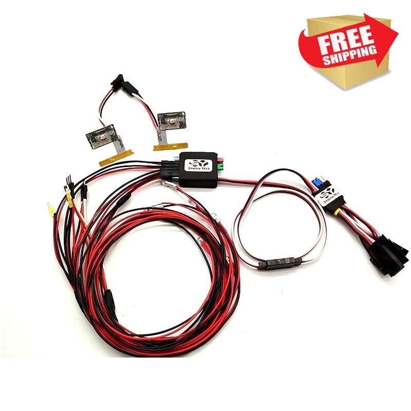 OneLine-TRX4 Kit de luz LED para trax TRX-4 Ford Bronco XLT cuerpo V2.0