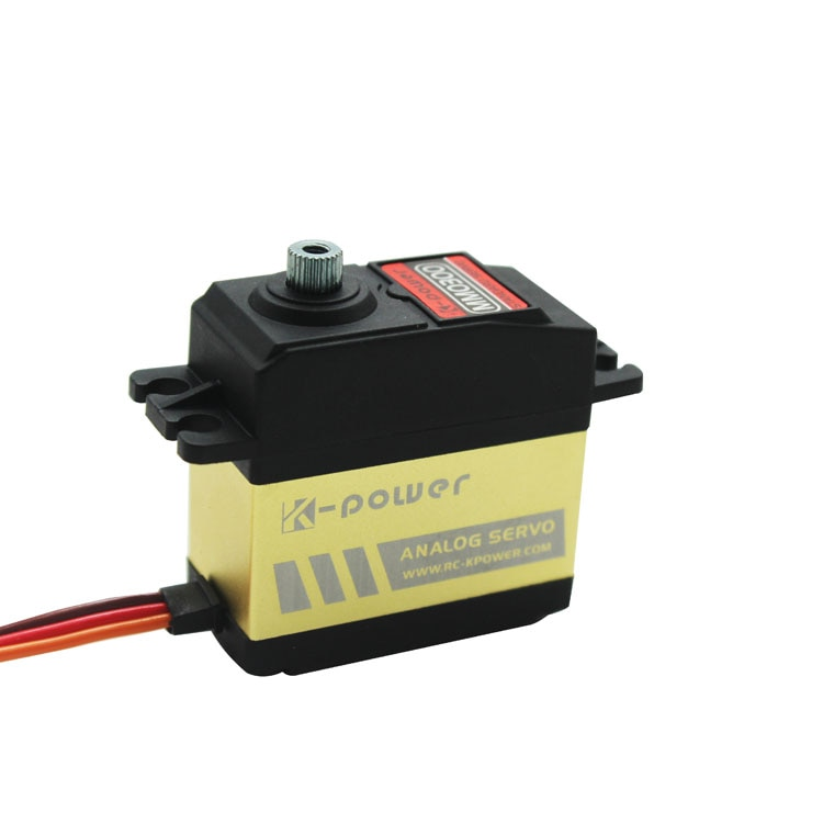 K-power MM0300 4KG Torque Analog Metal Gear waterproof Servo for  RC Car/RC Hobby/RC robot/airplane/boat/Retract landing enlarge