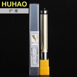 """2 flautas lâmina longa profissional flush guarnição arden roteador bit longo em linha reta--1/2*1/2*2-1/2 - 1/2 """"shank-arden a02058"""