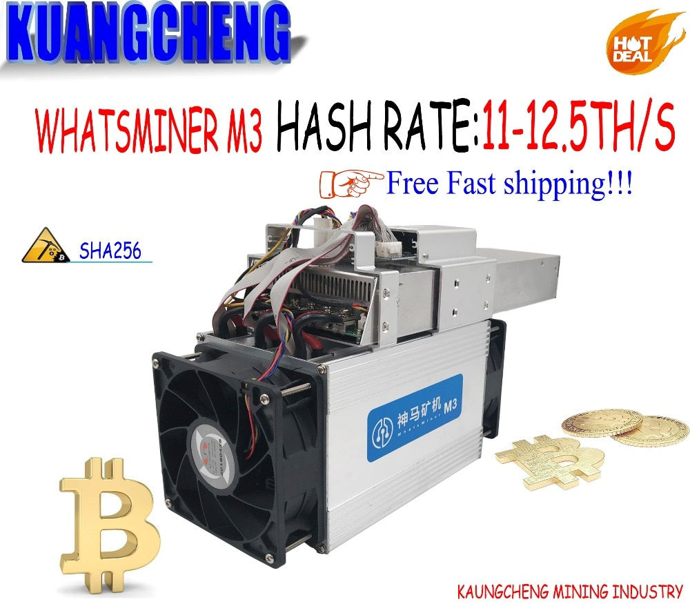 The Economic old Asic Bitecoin Miner WhatsMiner M3X 12--12.5TH/S  Miner and power integrated machine better than M3 for BTC BCH недорого