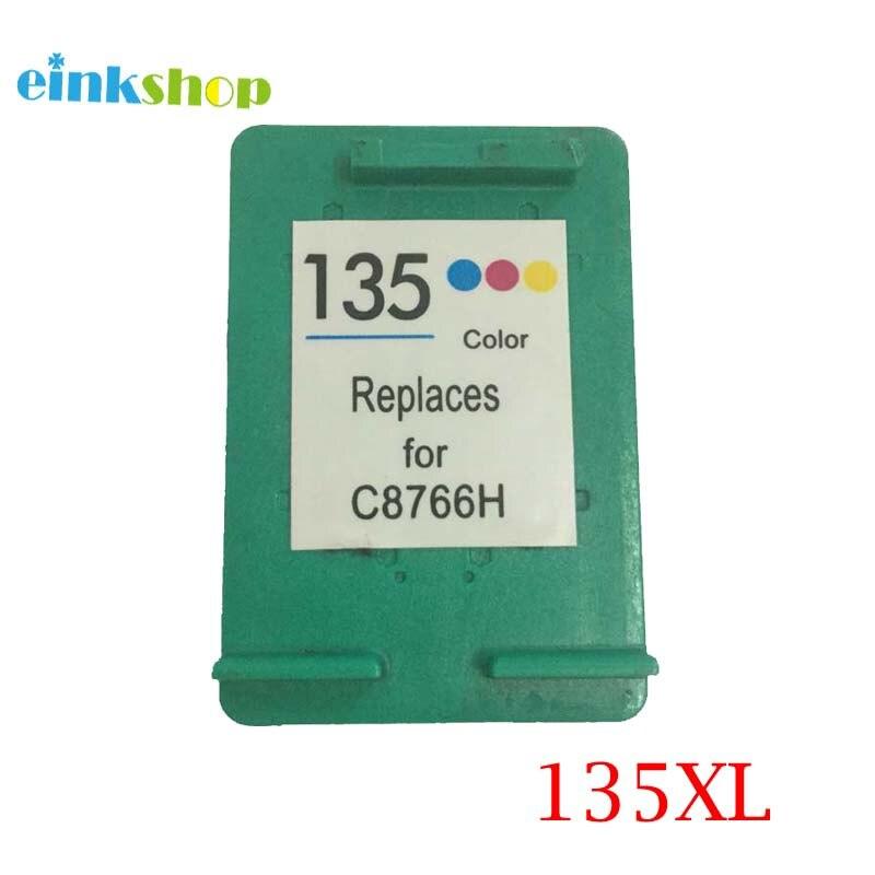 Einkshop para hp 135 cartucho de tinta Compatible para hp Photosmart 2573 2613 PSC1600 1613 2353 Deskjet serie 460 5940 impresora 6843