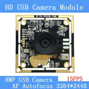 USB2.0 pure physical CCTV Camera HD 800W SONY IMX179 industrial level near remote AF Autofocus USB camera module support audio