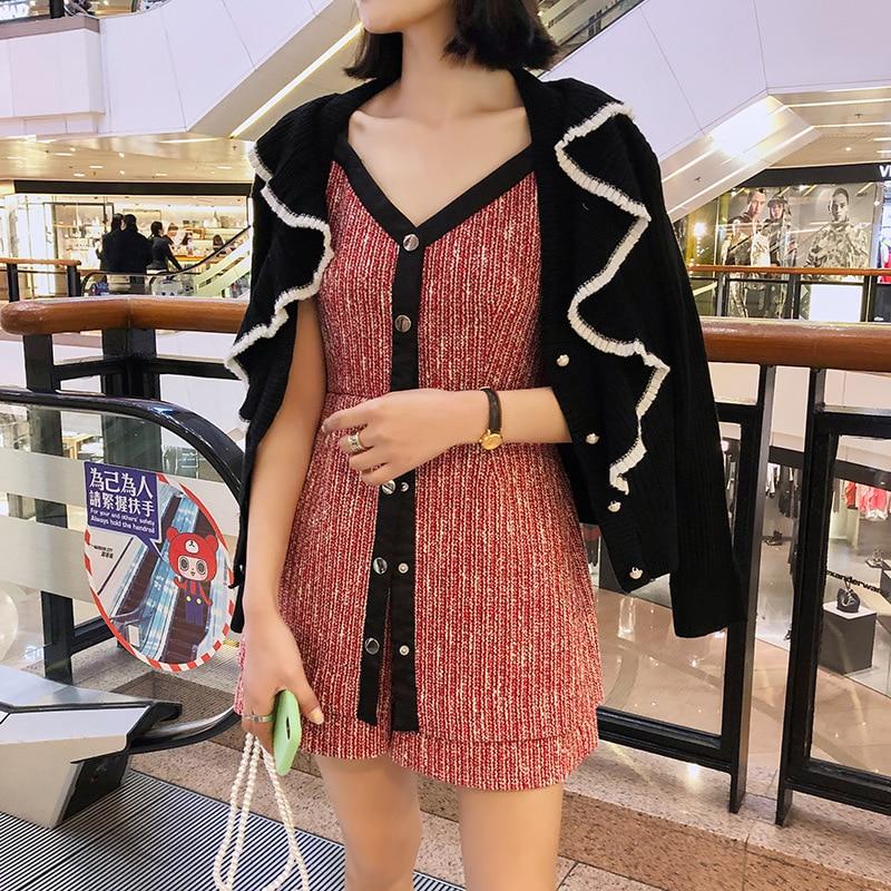 Spring Fashion New Slash Neck Off-the-shoulder Sweater Soild Color Cardigan Sweater enlarge