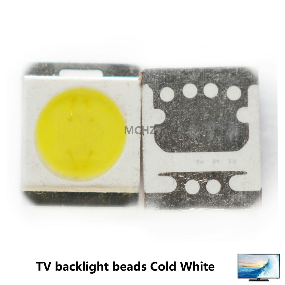 200PCS maximum discount 2835 TV backlight LG Seoul Samsung OSRAM 1W 2W 3V 130LM 240LM 200pcs lot 1w 5