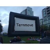 Ecran gonflable exterieur pour le cinema  ecran gonflable de film de projection decran de projecteur a la maison de cinema a Air ouvert
