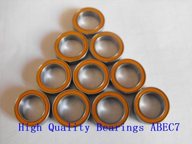 Frete grátis 10 PCS 8x12x3.5mm SMR128 2OS CB ABEC7 inoxidável híbrido cerâmico rolamento de esferas