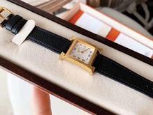 Handarbeit Aus Echtem Leder armband Digital Quarz Armbanduhr Platz Zifferblatt dame uhr für frauen