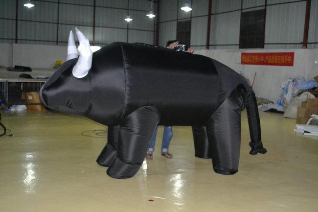 inflatable buffalo