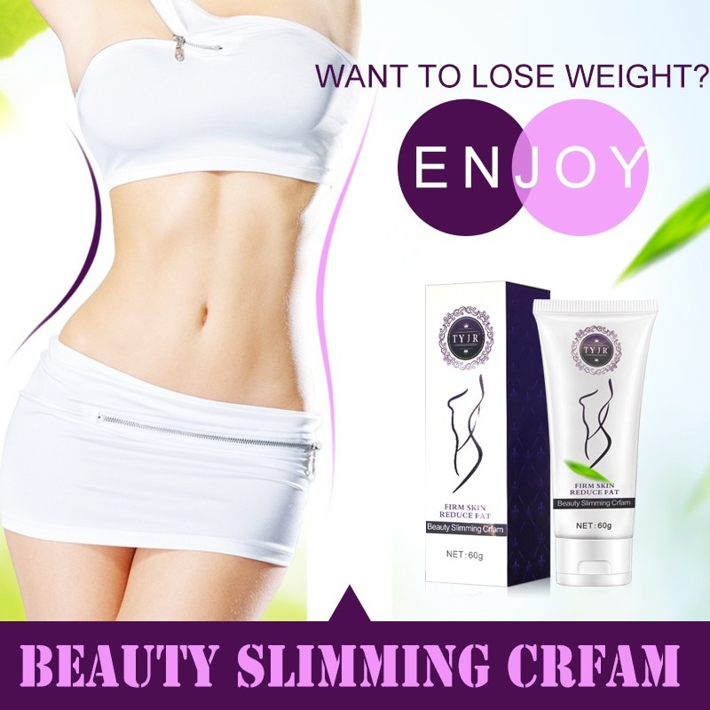 60g Lady Whole Body Fat Burning Slimming Body Cream Slimming Gel Weight Loss Cream Supplements Beautiful women