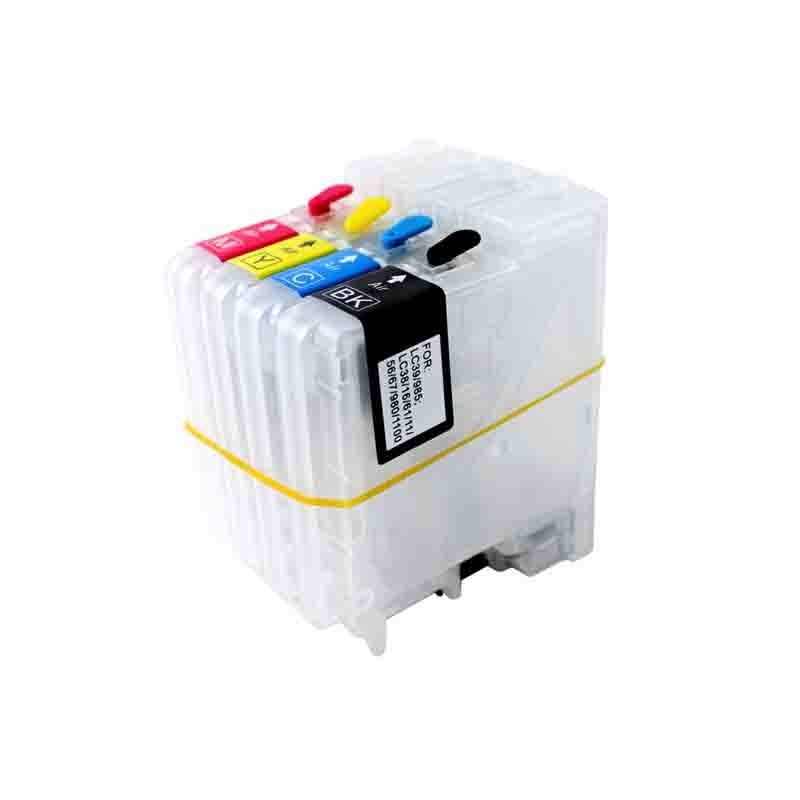 Vilaxh-cartouche dencre rechargeable   LC11 LC16 LC38 LC61 LC65 LC67, pour frère DCP- J140W