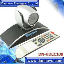 DANNOVO 1080 P 720 P USB PTZ caméra de salle de conférence vidéo, Zoom optique 10x, Rotation 360, Support Skype, MSN, Lync
