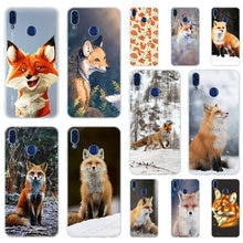 Mr cute Fox Soft TPU Case Cover For Huawei Honor 9 10 Lite 6X 7X 8X Max 7A 5.7inch 8A 9a V20 PLAY 9i