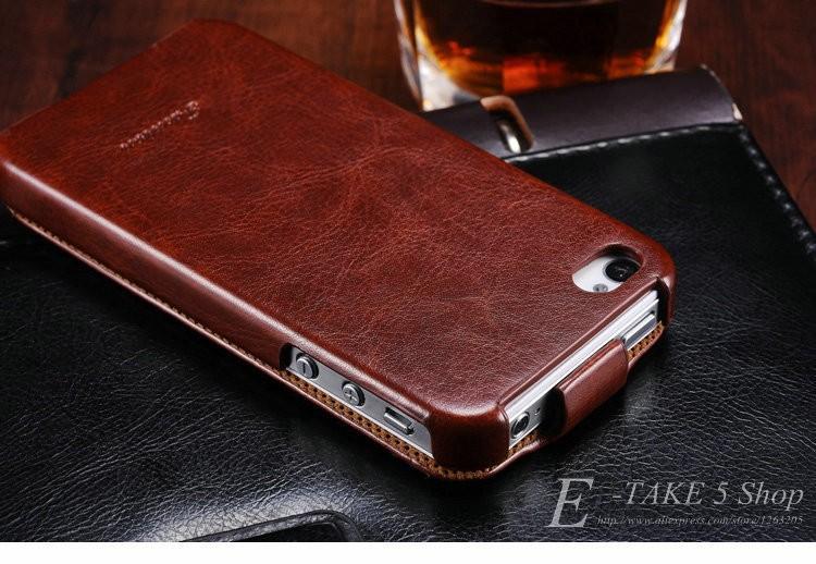 Pokrowiec case dla iphone 4 4s pu skóra pokrywa telefonu torba coque dla apple iphone 4s case luksusowe biznes styl tomkas 2