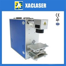 Wuhan meilleur service 20 W/30 W fibre laser machine de marquage pour bijoux, claviers de téléphone portable, pièces automobiles