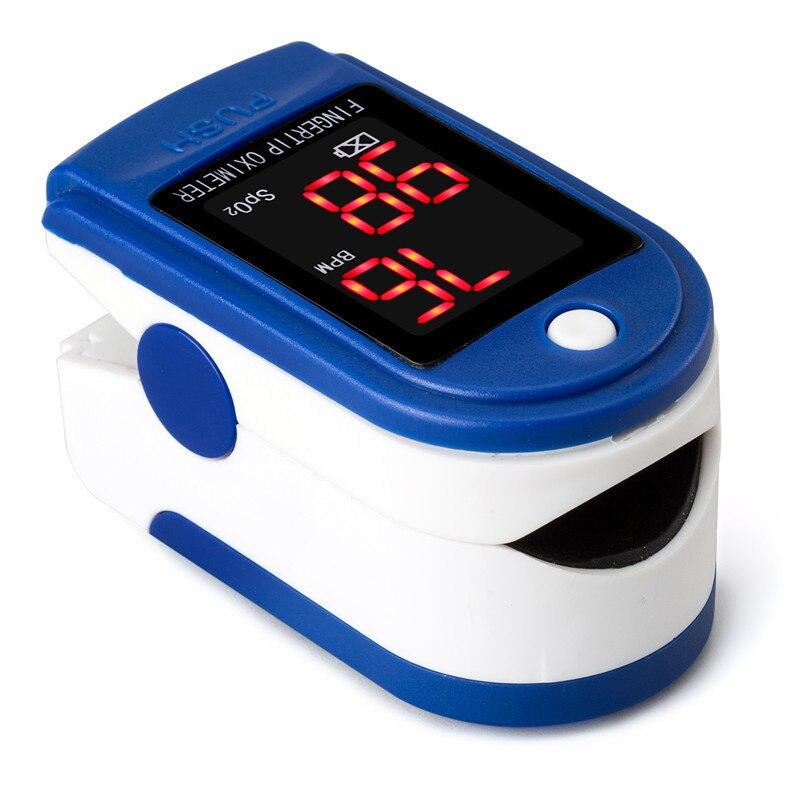 Equipo médico para el hogar, medidor de pulso LED para la yema del dedo, oxímetro, Monitor de saturación de oxígeno en sangre, dispositivo sanitario familiar