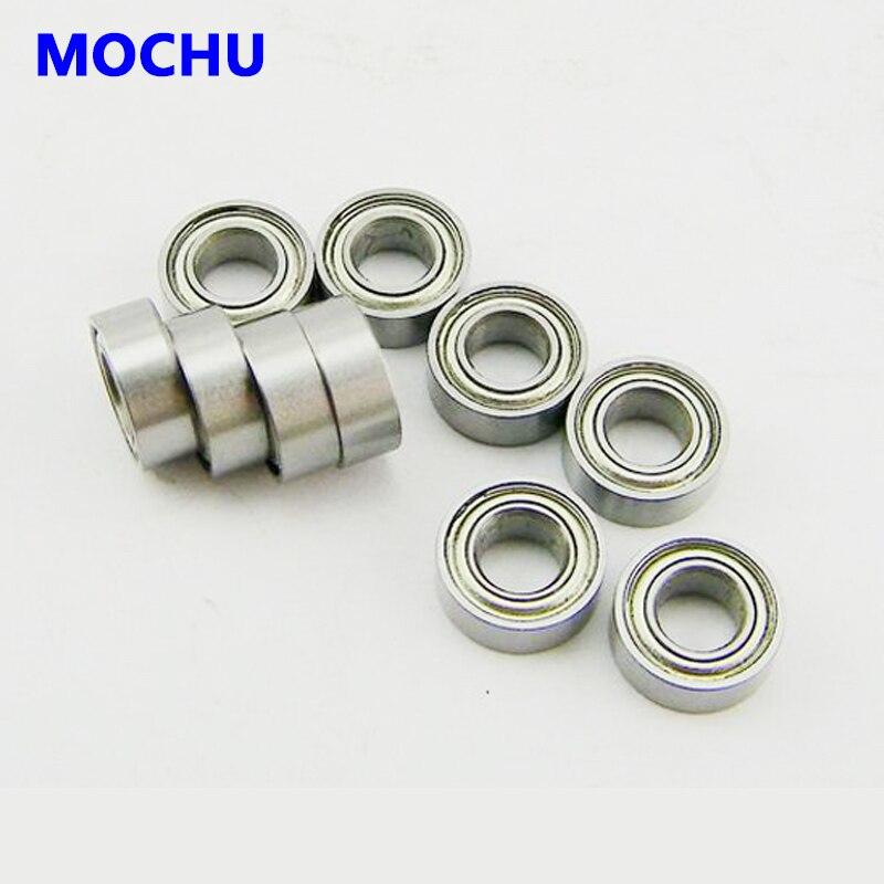 10 pces que carregam mr128 mr128z mr128zz 8x12x3.5 mochu blindado miniatura mini rolamentos rígidos de esferas única fileira