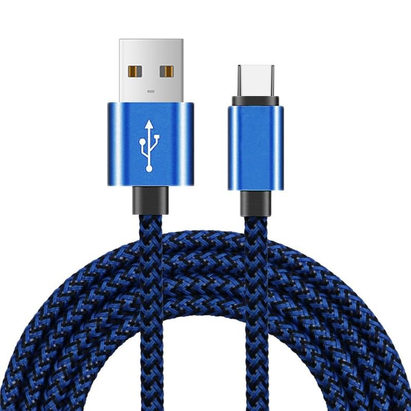 1m 2m 3m tipo C USB de carga de datos Cable de sincronización para Huawei Mate 10 20 P30 Samsung S8 S8 S10 más OnePlus 5T 6T 7 Pro LG G5 G6 V30