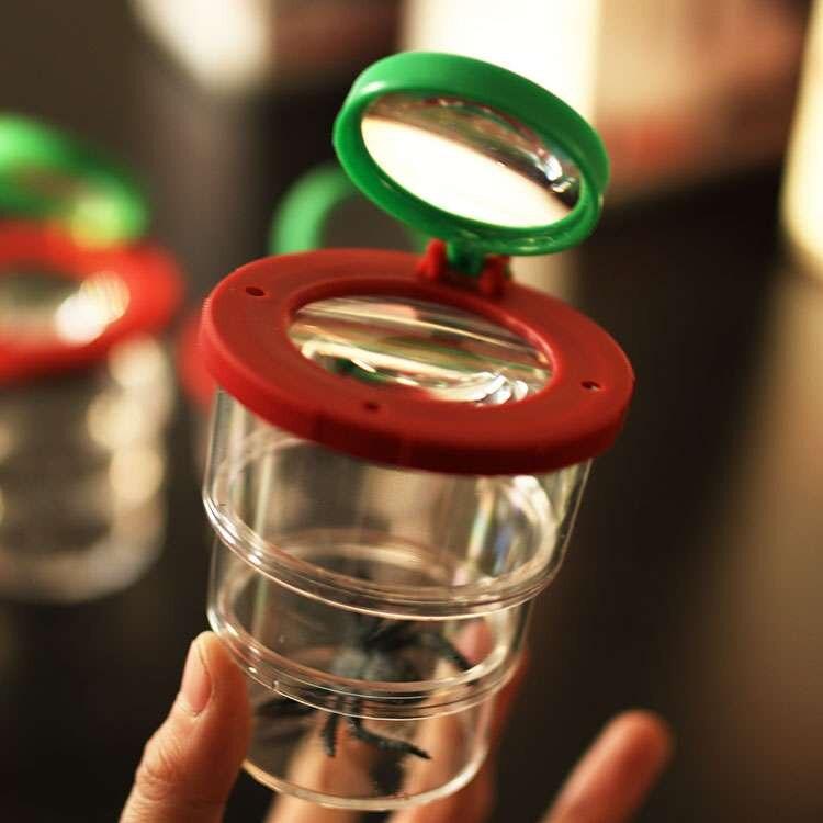 Unisex científico Discovery Toys infantil ciencia investigación Laboratorio instrumentos insectos observación cajas agrandar juguete escalable