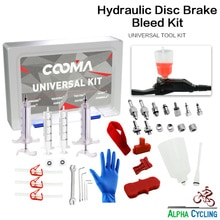 Kit doutils de purge de frein à disque de vélo hydraulique COOMA pour système de freinage AVID, Hayes et Formula, Kit ultime V2.0
