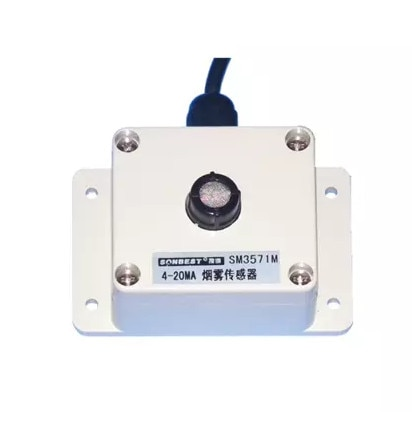 Smoke sensor, 4-20MA smoke transmitter, built-in sensor