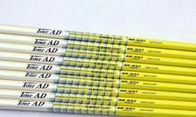 Nouveau TOUR darbre de Golf AD 65-II Clubs de Golf arbre de groupe de fer 10 pcs/lot arbre de Golf en Graphite R ou S ou SR flex livraison gratuite