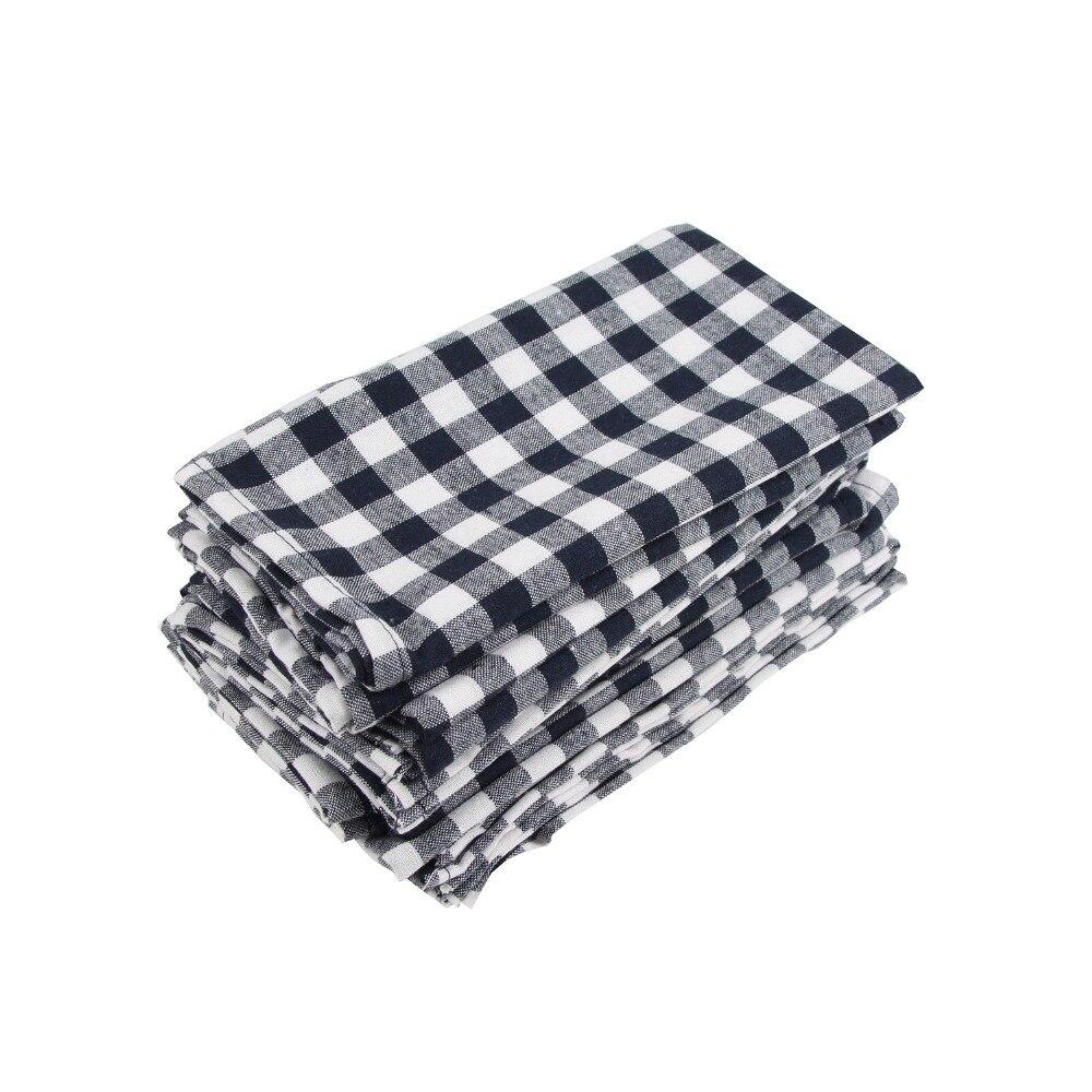 40x40 سنتيمتر مناديل من القماش مجموعة من 12 قطعة القطن الكتان الحرارة بساط عازل طاولة طعام حصيرة لينة طاولة أطفال المناديل