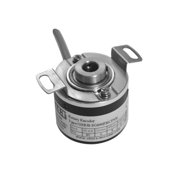 CALT GHB38 Anti-oil and Water Rotary Encoder 38mm Diameter 8mm hole 1000 pulse encoders calt ghs4006 series pulse reading mechanical rotary encoder 40mm size npn linear encoder sensor