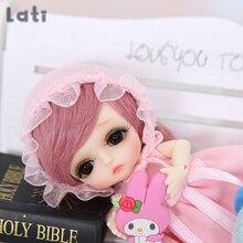 Lati biały Belle 1/12 BJD SD lalki żywica figurki Model ciała dziewczynek zabawki dla chłopców oczy wysokiej jakości prezenty Oueneifs luodoll