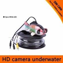 Caméra de pêche sous-marine   20M HD 600TVL Endoscope AV