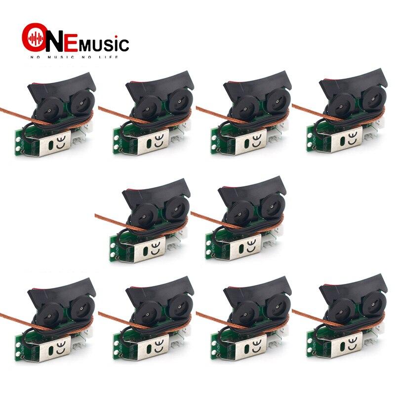 10 قطعة من نظام المعادل لاقط الصوت مع نظام Preamp على متن الطائرة للجيتار الصوتي