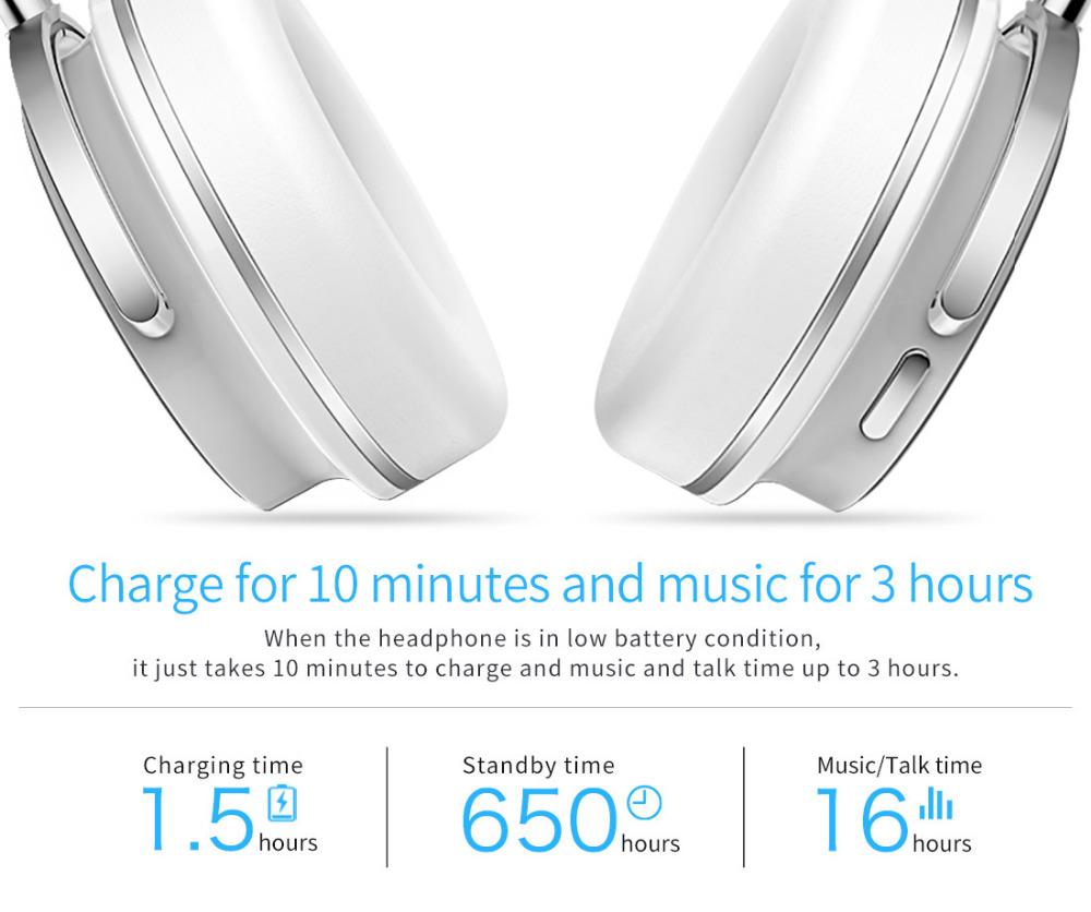 T4 bluedio aktywny hałasu anulowanie słuchawki bezprzewodowe bluetooth bezprzewodowy zestaw słuchawkowy z mikrofonem 10