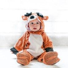 Vêtements animaux pour bébés   Costume Festival Cosplay pour enfants, renne, Animal, Costume de vacances Halloween poufs, mode bébés enfants barboteuses