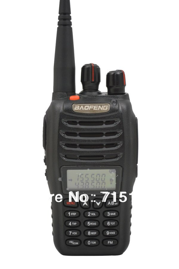 De Baofeng UV-B5 de banda Dual jamón radio VHF/UHF 5W walkie talkie baofeng uv b5 portátil radio baofeng uvb5 walkie talkie